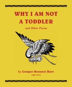 Book Cover for Why I Am Not a Toddler